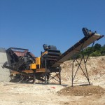 MCP - 138 Mobile Crushing and Screening Unit